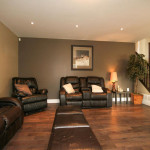 Family Room Renovation on Lower Level
