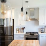 Kitchen Island with Lighting