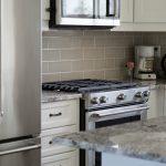 Renovated kitchen Back Splash