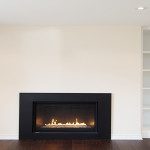 Renovation with Fireplace and Shelves