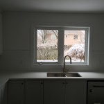 Kitchen Renovation Sink and Window