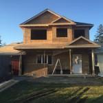 Home Addition in Progress