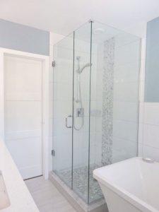 Custom shower in main bath